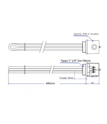 SLS-FX2 | Tirante con anello.